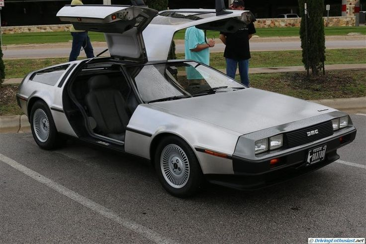 Delorean . As seen at the June 2014 Cars and Coffee event in Austin TX USA.