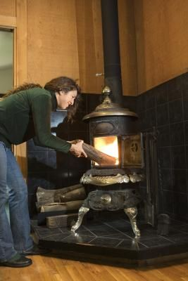 DIY Hearth Pad: There are few things more comforting than a cracking fire in a wood-burning stove on a chilly day. Wood stoves need a heat-resistant pad underneath to protect the house from excessive heat and ...