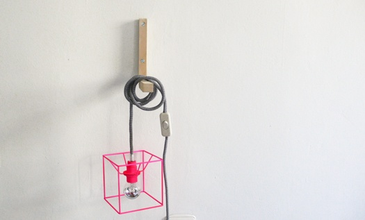 lamparas cubo