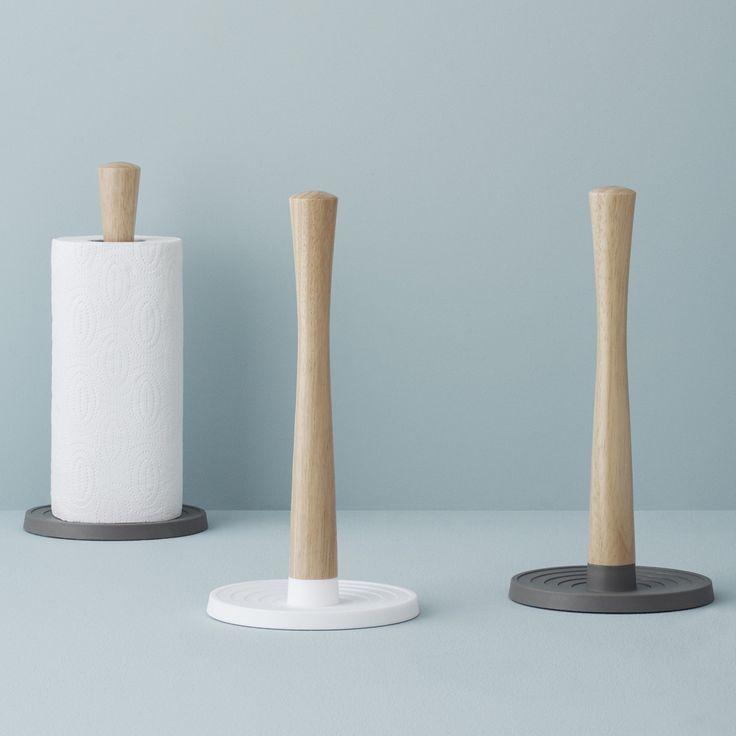 Die Roll-it Küchenrollenhalter sind aus schönem Material und finden in jeder Küche einen geeigneten Platz um sich nützlich zu machen.