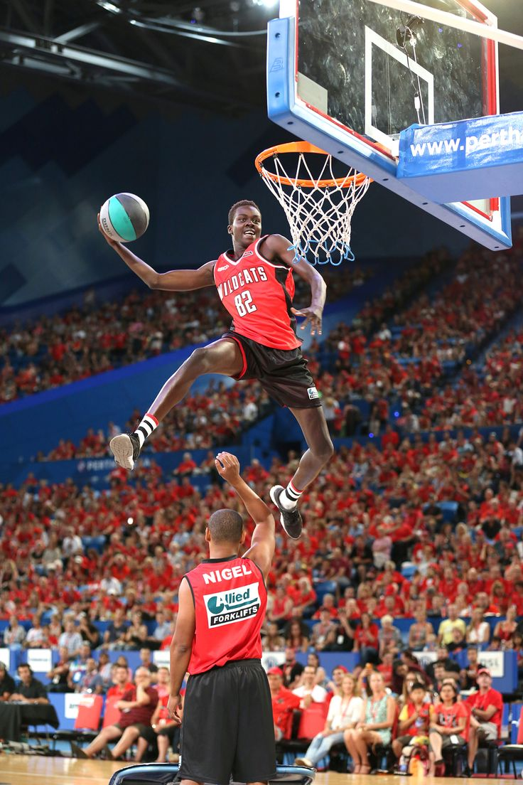 The Perth Wildcats introduced its Dunk Team in 2014/15. Photo Michael Farnell/Perth Wildcats