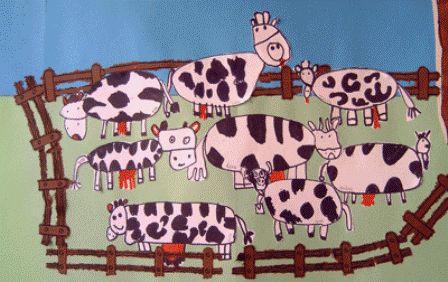 * Koeien in de wei kan ook als groepswerk!