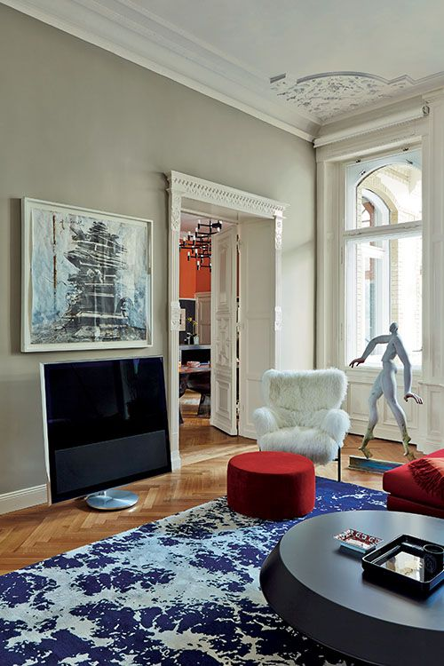 Farrow & Ball: Living Room in Hardwick White No.5 | Estate Emulsion - See more at: http://us.farrow-ball.com/living-room-inspiration/content/fcp-content#sthash.DncQR2AL.dpuf