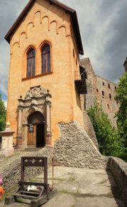 Grodno - brama zamku górnego. #zamekGrodno #poland #kynsburg