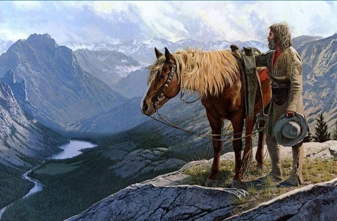619 Best Mountain Men Images On Pinterest Mountain Man