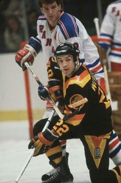 Tiger Williams | Vancouver Canucks | NHL | Hockey