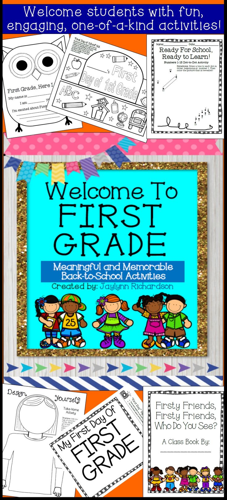 Welcome To First Grade Meaningful And Memorable Back To