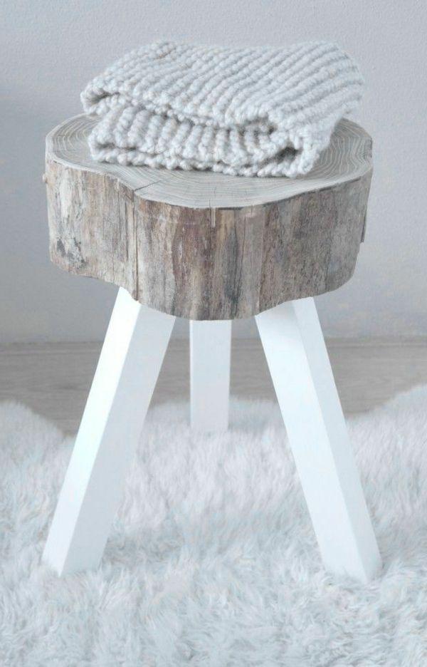 die besten 25 holzstamm deko ideen auf pinterest baumstamm deko selber machen holzstamm und. Black Bedroom Furniture Sets. Home Design Ideas