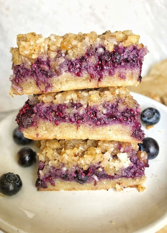 Mixed Berry Crumble Bars Gluten Free Dairy Free Recipe