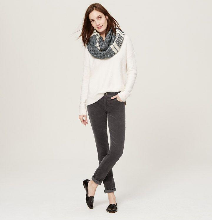 Modern Skinny Corduroy Pants - Black, Grey, and Navy - sz 29 - regular or  tall