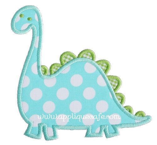 Dinosaur 2 applique design for the home pinterest for Appliques exterieures design