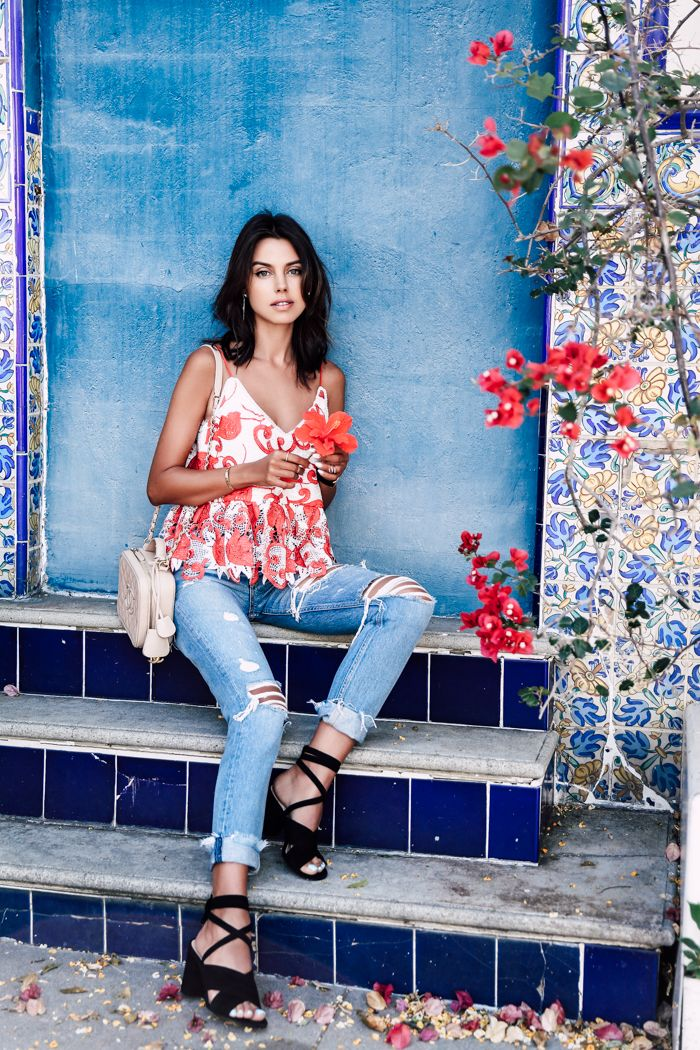 VivaLuxury - Fashion Blog by Annabelle Fleur: GIRLFRIEND JEANS & PRETTY TILE…