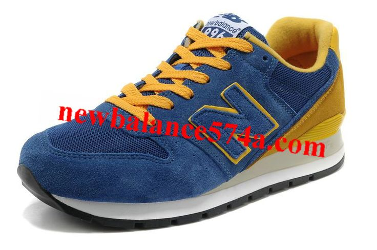 New Balance NB CM996USH Blue Orange Yellow Suede For Men shoes