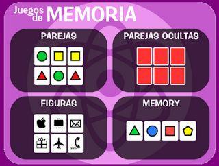 MI MUNDO DE PEDAGOGÍA TERAPEÚTICA: JUEGOS DE MEMORIA
