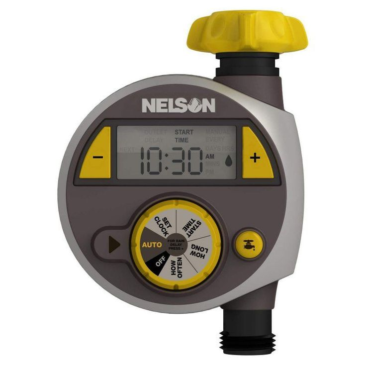 Nelson Sprinkler Large Timer with LCD Screen - 1404-3400
