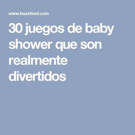 30 Juegos De Baby Shower Que Son Realmente Divertidos My Love