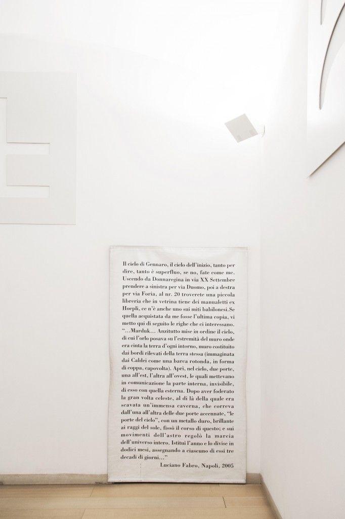 Luciano Fabro, Cielo di Gennaro, 2005. Museo Madre, Napoli. Photo (C) Amedeo Benestante