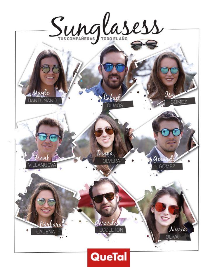Las gafas de sol son tus mejores aliadas, no solamente para mantener tus ojos jóvenes, cómodos y protegidos, sino para agregar un toque de coolness a tu outfit #QuetalTips #sunglasses