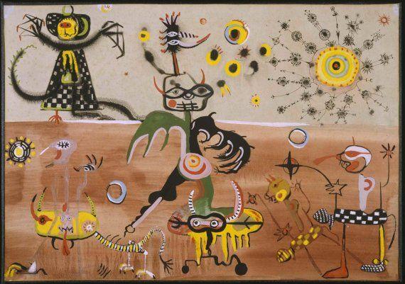 Obras de Joan Ponç i Bonet