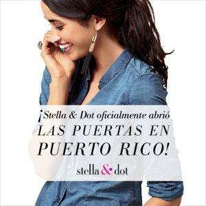 Stella & Dot Launches in Puerto Rico  Stella & Dot oficialmente en Puerto Rico. Lanza tu carrera!