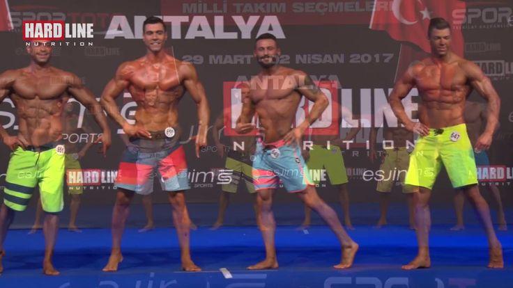 IFBB TR.Kaslı Erkekler Fizik Şampiyonası - Antalya - 2017