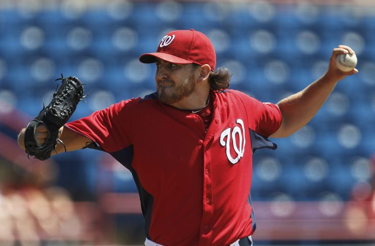 Nationals pitcher John Lannan used a traditionaldelivery back in 2012. In 2017, he's a side-armer. (Paul Sancya/Associated Press)  WEST PALM BEACH, Fla. — Early one morning, before fans got to the back fields at Ballpark of the Palm Beaches, a few unfamiliar faces in red minor league...  http://usa.swengen.com/john-lannan-reinvented-as-a-side-armer-and-the-nationals-have-let-bygones-be/