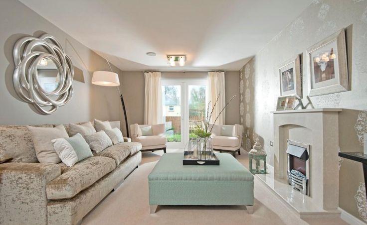 Interior Designed Formal Living Room. Fabulous Minky