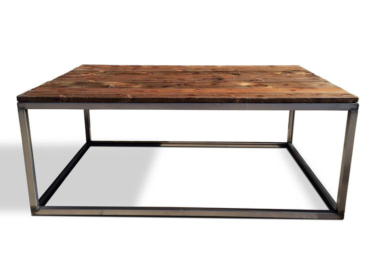 Modern Denver Colorado Industrial Furniture King Coffee Cocktail Table In Design