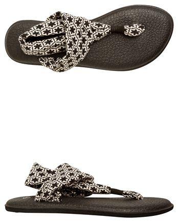 SANUK YOGA SLINGED UP PRINTED SANDAL > Womens > Footwear > Sandals | SWELL.com
