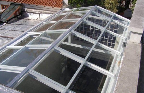 Techos corredizos arquitectura pinterest techos - Claraboyas para techos ...