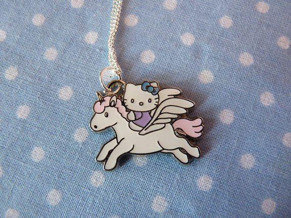 Hello kitty riding a unicorn   Stuff   Pinterest   Unicorns, Hello ...