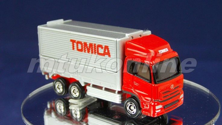 TOMICA 031F NISSAN DIESEL QUON | CHINA | 031F-02 | FIRST RED