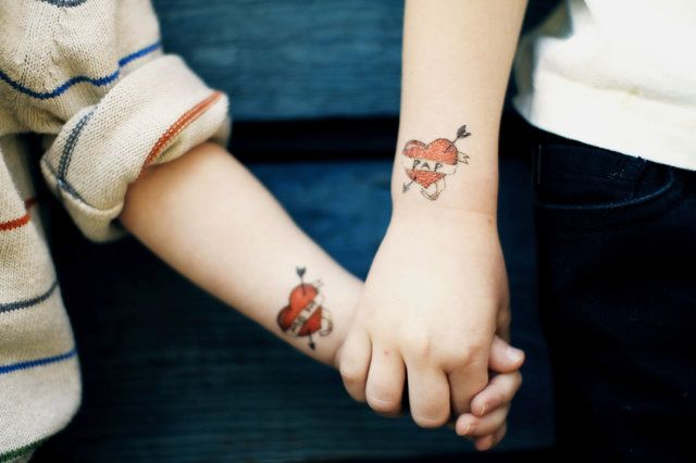 Tattoos and teenagers