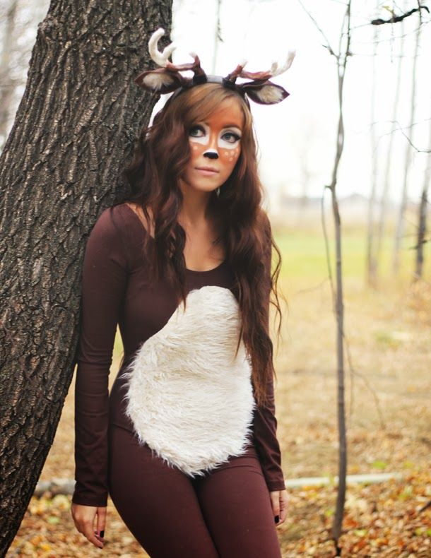 Deer Costume Tutorial Fawn                                                                                                                                                                                 More