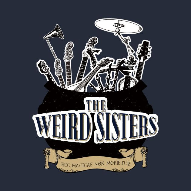 Check Out This Awesome The Weird Sisters Design On Teepublic Harry Potter Hogwarts Harry Potter Poster Zauberer