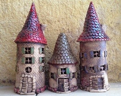 Anleitung Keramik Haus