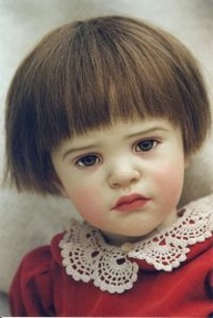 Beautiful doll by sissel skille