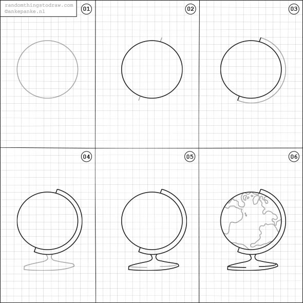 Learn how to draw fun things with easy instructions, also great for/to do with kids! Twice a week new random things to draw online.
