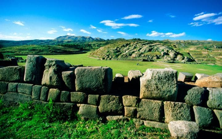 Sacsayhuaman was formerly the capital of the Inca Empire