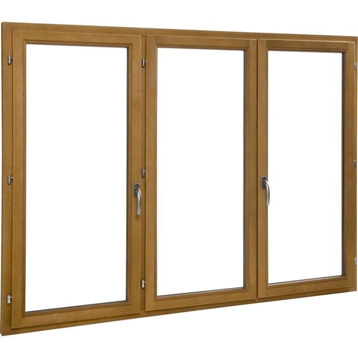 Fen tre en bois primo 3 vantaux h125xl180cm mat riaux for Fenetre windows 7 outils