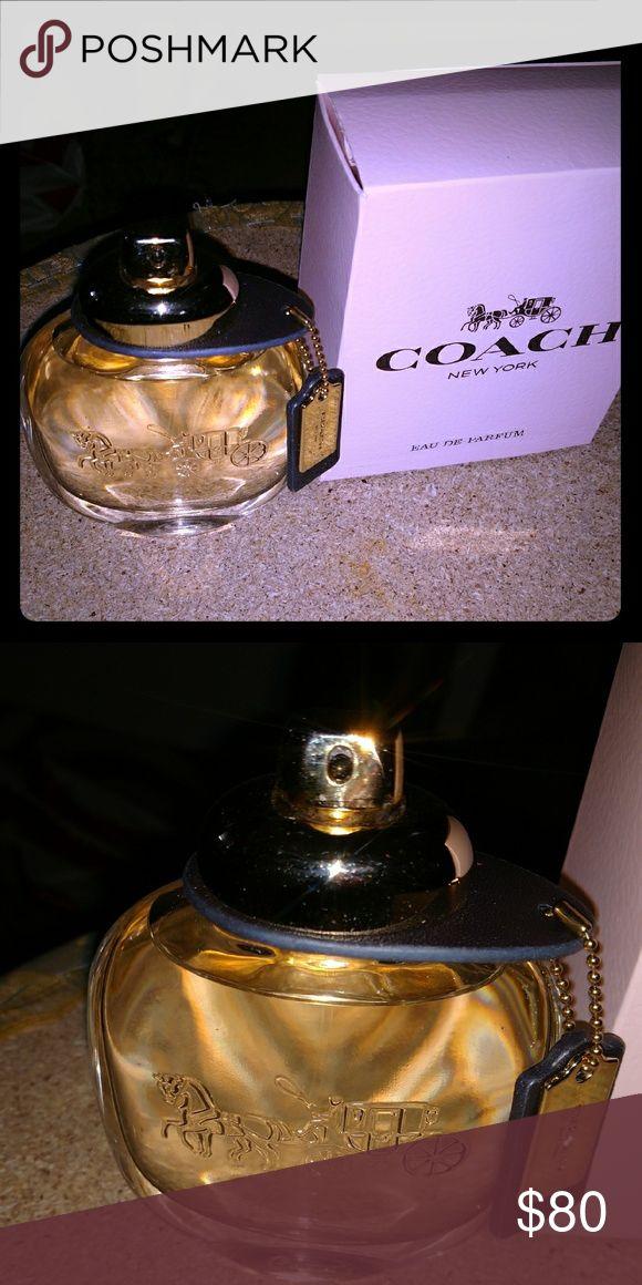 Coach New York Perfume Coach New York Eau De Parfum Brand new Retail $95 3 Fl Oz/90 ml Made in France  Purchased at Ulta Coach Other
