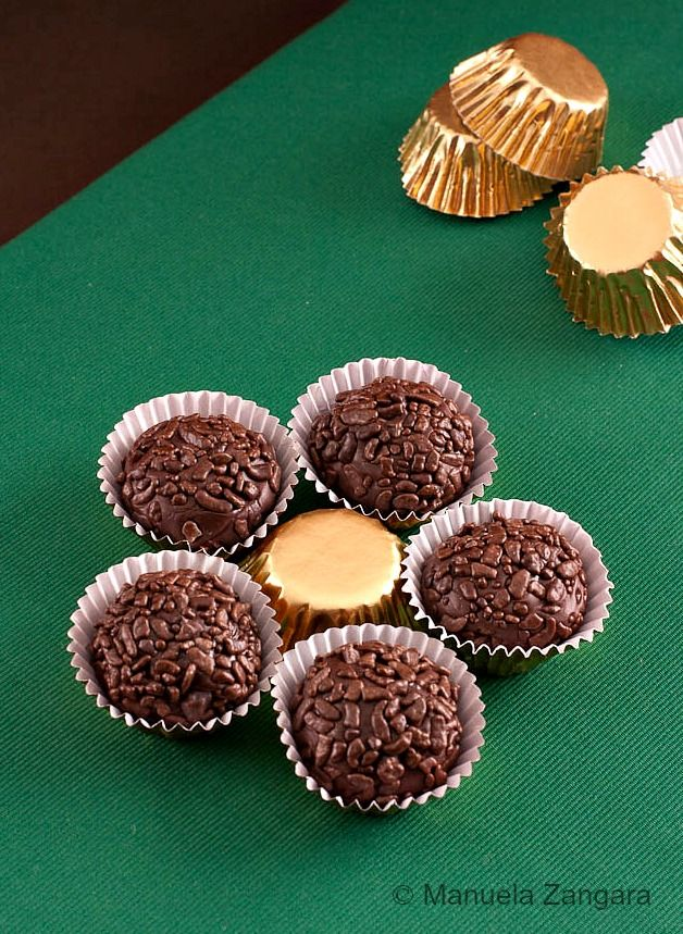 Brigadeiros - little truffles from Brazil