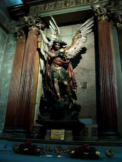 Saint Michael Archangel, Cathedral of Santiago - Santiago / Chile