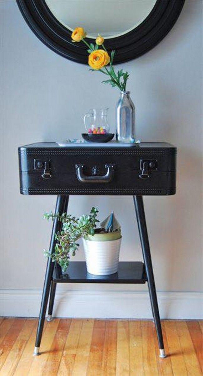 Ideas to Repurpose Old Suitcases | Upcycle Art (shared via SlingPic)