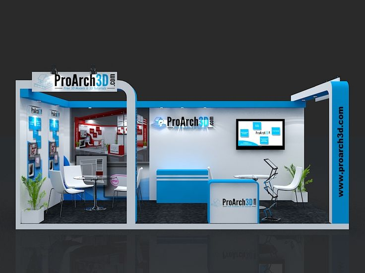 Exhibition stall 3d model | 6 mtr x 3 mtr | 2 side open  Free Download 3Ds Max File http://www.proarch3d.com/exhibition-stall-design-6-mtr-x-3-mtr-2-side-open-free-download/