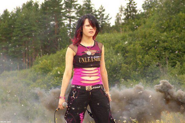 Daria Stavrovich ten years ago.