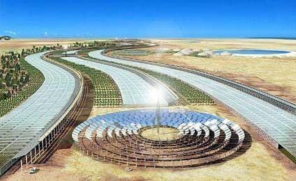 Princípio do Biomimetismo ou seja usar a genealidade da natureza na Arquitetura. É o que defende o arquiteto Michael Pawlyn que estuda sistemas complexos de animais e plantas a fim de propor soluções construtivas sustentáveis. A proposta do Sahara Forest Project é criar um sistema que gere energia renovável água fresca e comida em pleno deserto.#biomimetismo #michaelpawlyn #sustentabilidade #sustentainability #saharaforestproject #sistemasconstrutivos #futuro #future #constructionsystems…