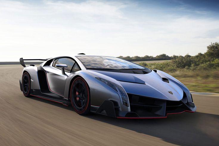 the top ten most expensive cars in world  million lamborghini veneno