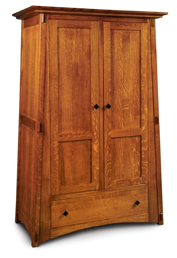 Attractive McCoy Wardrobe From Simply Amish Furniture