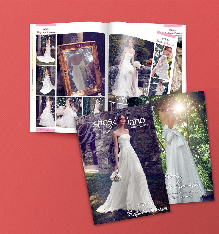 #Graphic #Design per SposAriano #Magazine #Wedding #Sposi #AtelierRaffaellaZucchetto #AtelierAbitiCerimoniali #Avellino #Italy